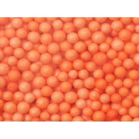 Billes de polystyrène orange  - 1