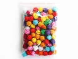 Acheter Lot de 100 pompons à fils métalliques de couleur vives - 1,5 cm - 2,99€ en ligne sur La Petite Epicerie - 100% Loisi...