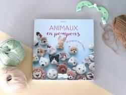 Livre  animaux en pompons de Trikotri Dessain et Tolra - 3