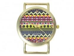 Cadran de montre 2,5 cm - style ethnique  - 1