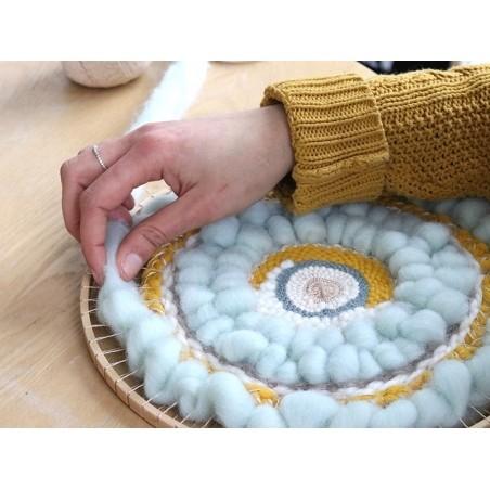 Kit métier à tisser rond 28,5 cm Graine Créative by DTM - 5