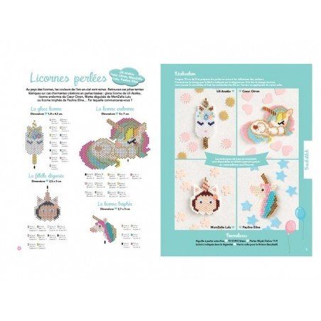 Acheter Livre Mes jolies licornes - 17,90€ en ligne sur La Petite Epicerie - 100% Loisirs créatifs