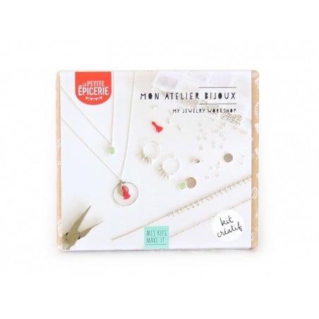 Kit MKMI - mon atelier bijoux - argenté La petite épicerie - 1