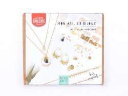 Acheter Kit MKMI - mon atelier bijoux - doré - 16,99€ en ligne sur La Petite Epicerie - 100% Loisirs créatifs