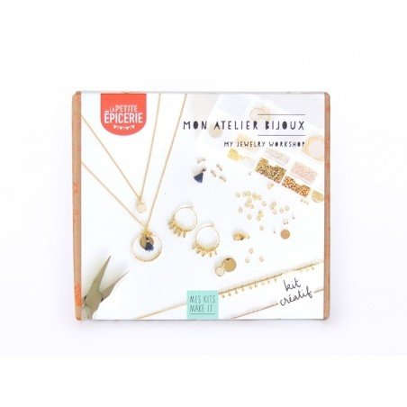 Kit MKMI - mon atelier bijoux - doré La petite épicerie - 1
