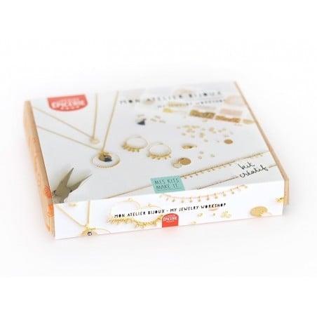 Kit MKMI - mon atelier bijoux - doré La petite épicerie - 3