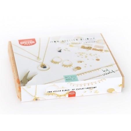 Acheter Kit MKMI - mon atelier bijoux - doré - 16,99€ en ligne sur La Petite Epicerie - Loisirs créatifs
