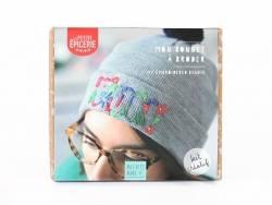 Kit MKMI - mon bonnet à broder La petite épicerie - 1