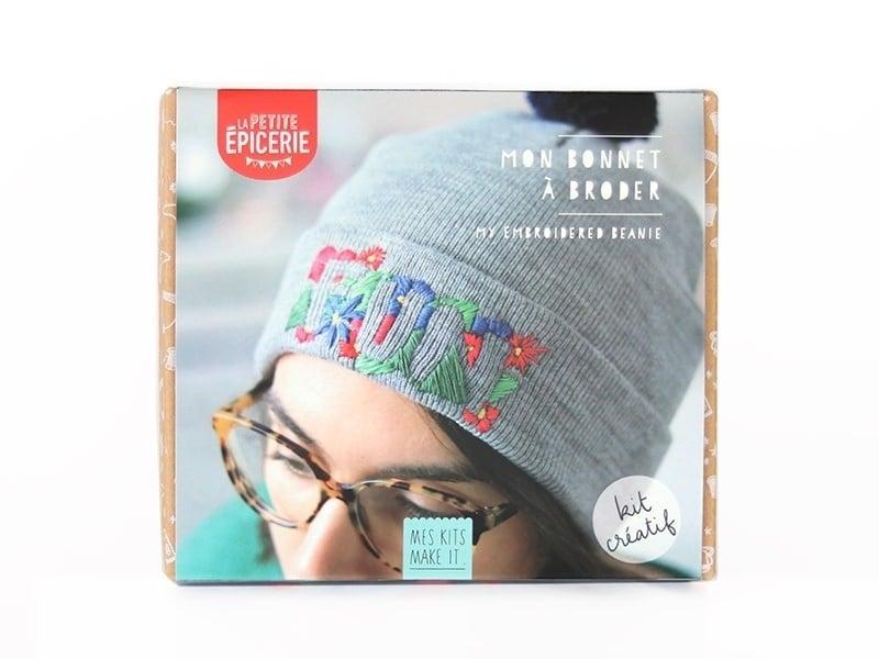 Acheter Kit MKMI - mon bonnet à broder - 16,99€ en ligne sur La Petite Epicerie - Loisirs créatifs