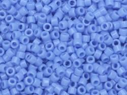 Miyuki Delicas 11/0 - bleu pervenche opaque 730 Miyuki - 1
