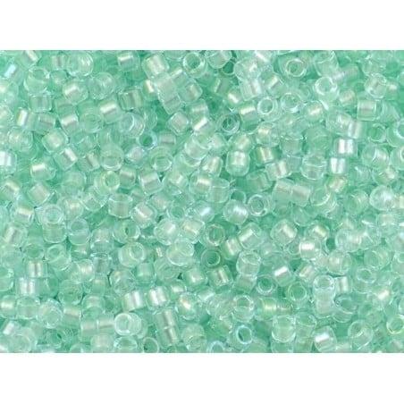 Acheter Miyuki Delicas 11/0 - Mint pearl lined glacier blue DB-1707 - 2,29€ en ligne sur La Petite Epicerie - Loisirs créatifs