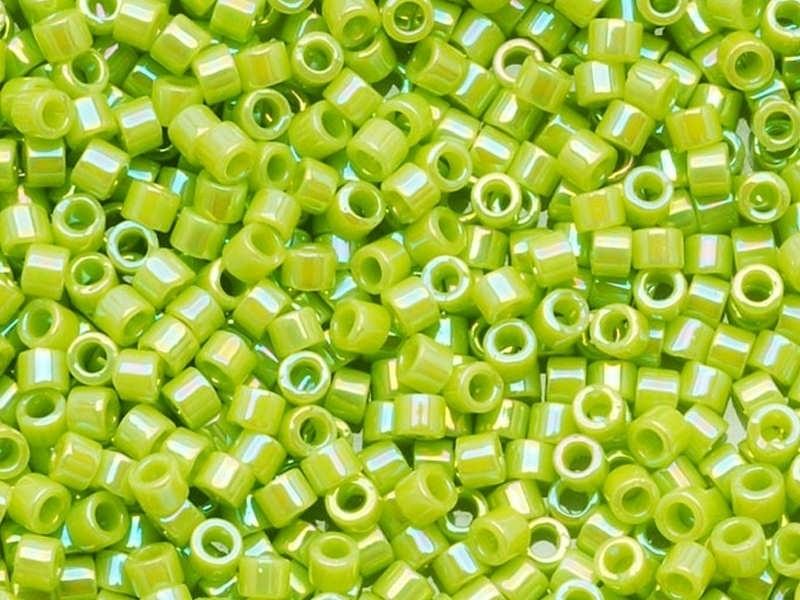 Miyuki Delicas 11/0 - vert chartreuse 169 Miyuki - 1