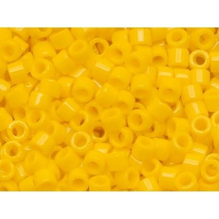 Miyuki Delicas 11/0 - jaune canari 1132 Miyuki - 3