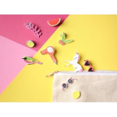 7 feuilles de plastique fou / plastique dingue - tranparent Graine Créative by DTM - 2