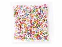 Méga Billes de polystyrène multicolores pour slime  - 2