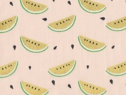 Fabric with a print - watermelon