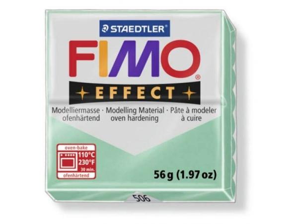 Fimo Effect - gemstone colour jade green no. 506