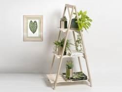 Acheter Etagère escabeau en bois - 3 étages - 29,99€ en ligne sur La Petite Epicerie - Loisirs créatifs