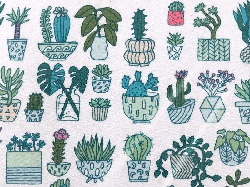 Toile enduite cactus Rico Design - 1