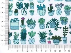 Toile enduite cactus Rico Design - 4