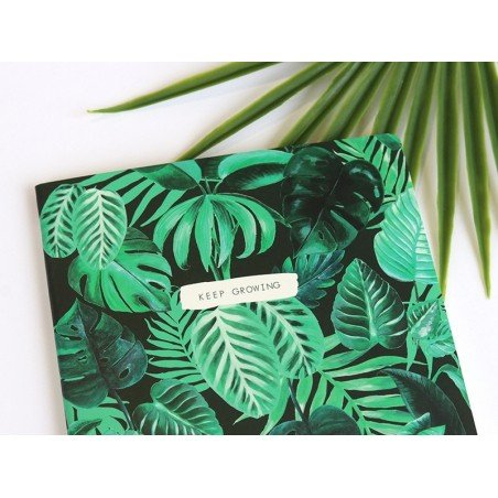 "Carnet A5 jungle botanique ""keep growing"" Sass&Belle - 5"