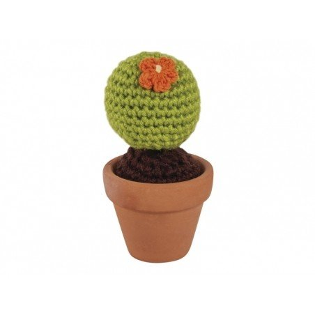 Kit mini cactus en crochet  - 2