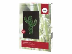Kit String art - image à clouer Cactus Rayher - 1