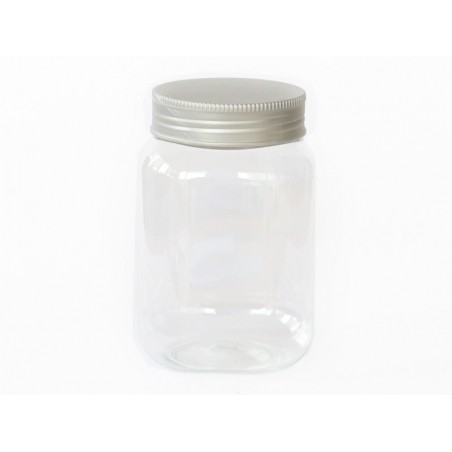 Pot / bocal en plastique transparent 500ml  - 2