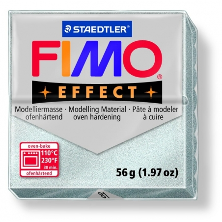 Fimo Effect - metallic colour silver no. 81