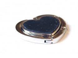 Acheter Porte sac pliable - coeur - 4,50€ en ligne sur La Petite Epicerie - Loisirs créatifs