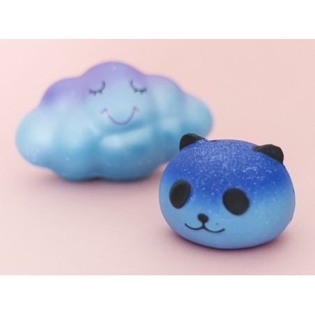 Squishy nuage bleu galaxy  - 5