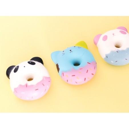 Squishy donut panda rose  - 3