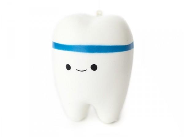 Acheter Squishy dent bleue Kawaii - 7,99€ en ligne sur La Petite Epicerie - 100% Loisirs créatifs