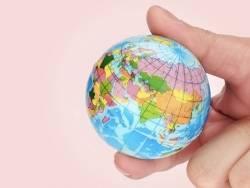 Anti stress globe terrestre / monde  - 2