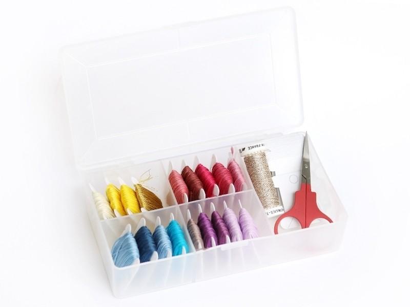 Acheter Petite boîte de rangement pour fils à broder - 5,29€ en ligne sur La Petite Epicerie - Loisirs créatifs