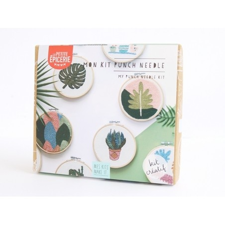Kit MKMI - punch needle - Mes kits make it  - 5