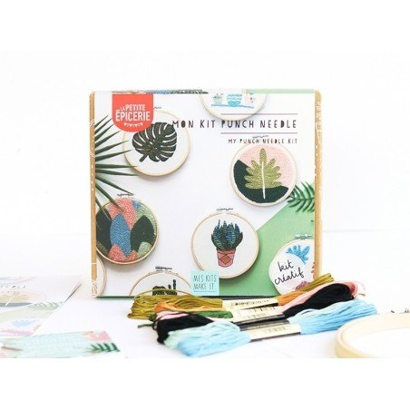 Kit MKMI - punch needle - Mes kits make it  - 1
