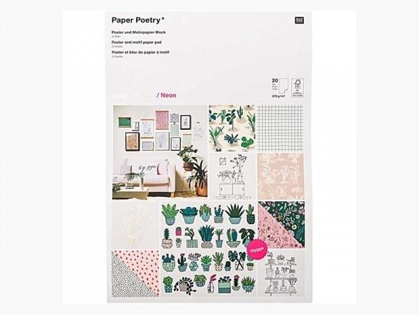 Acheter Bloc de papier A3 / affiches - Hygge - petites plantes, succulentes et cactus - 23,49€ en ligne sur La Petite Epicer...
