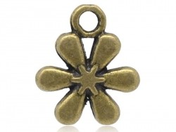 1 hayflowers charm - bronze-coloured