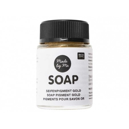Pigments pour savon - Or  - 1