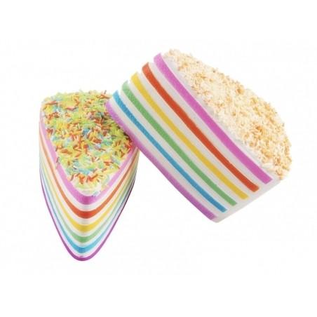 Gros squishy Rainbow cake avec des vermicelles  - 5