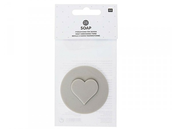 Empreintes pour savons - coeur  - 1