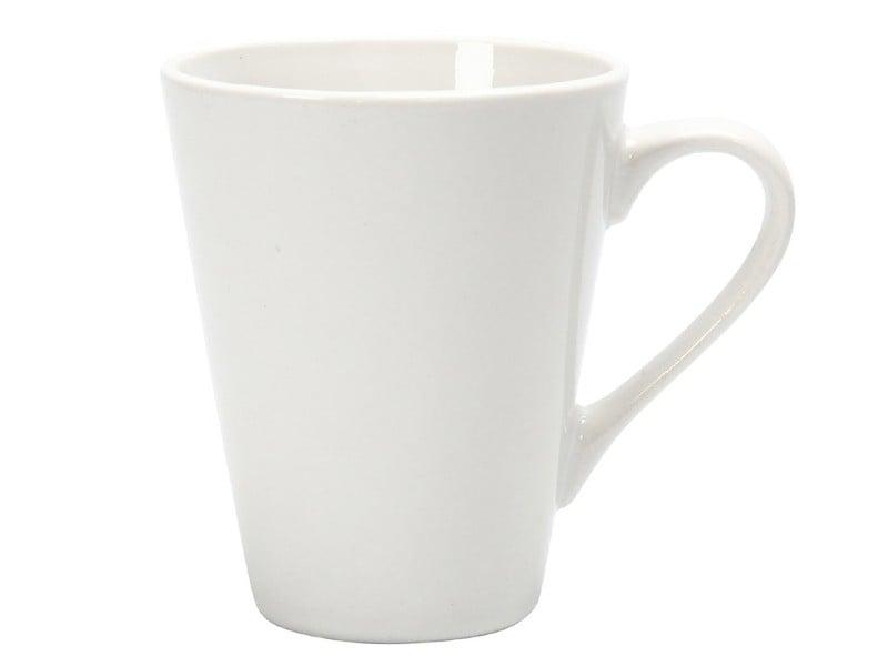 Acheter Mug en porcelaine blanche, 10 cm - forme conique - 2,29€ en ligne sur La Petite Epicerie - 100% Loisirs créatifs