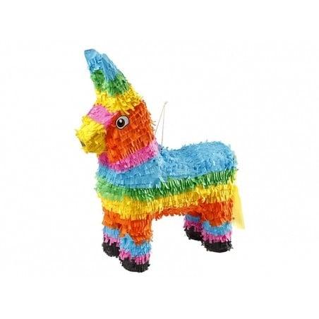 Kit DIY Piñata âne / lama alpaga  - couleurs pop  - 1