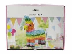 Kit DIY Piñata âne / lama alpaga  - couleurs pop  - 2