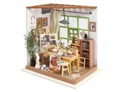 Kit complet Pièce miniature, atelier d'artiste  - 1