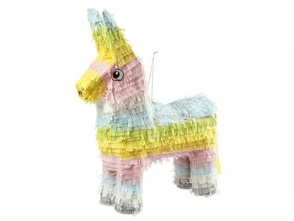 Kit DIY Piñata âne / lama alpaga  - couleurs pastels  - 1