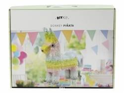 Kit DIY Piñata âne / lama alpaga  - couleurs pastels  - 2