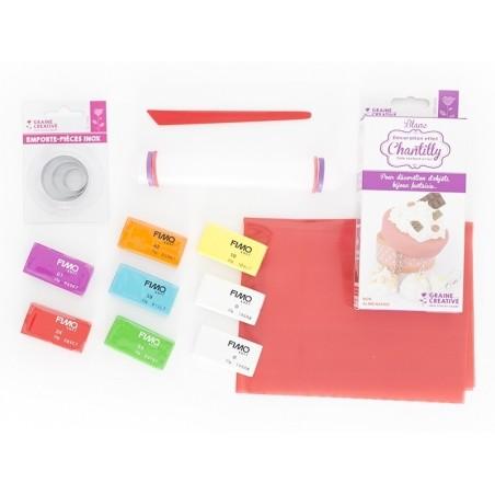 Kit fimo - Mallette Rainbow cake Fimo - 2