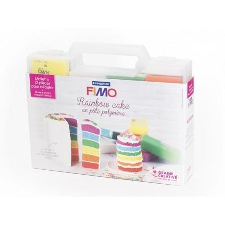 Kit fimo - Mallette Rainbow cake Fimo - 5